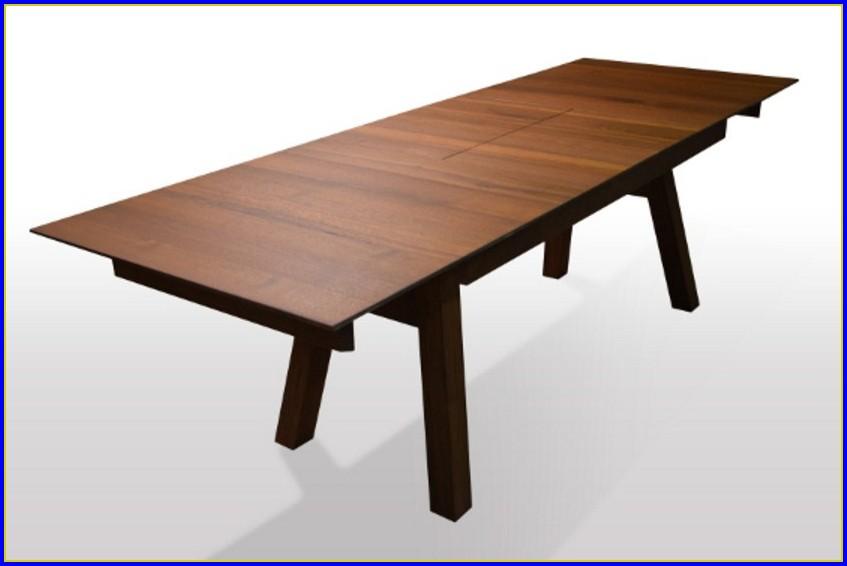 Nussbaum Tisch Massiv Ausziehbar