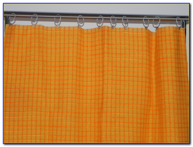Orangener Vorhang Gmbh