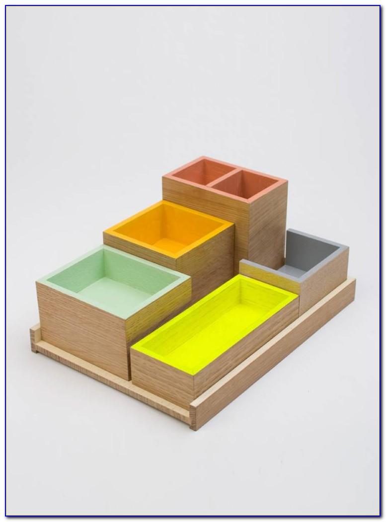 Ordnungssystem Schreibtisch Holz