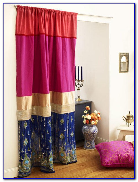 Orientalischer Vorhang Rot