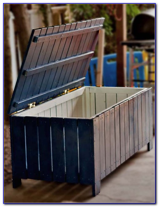 Outdoor Bench Storage Seat