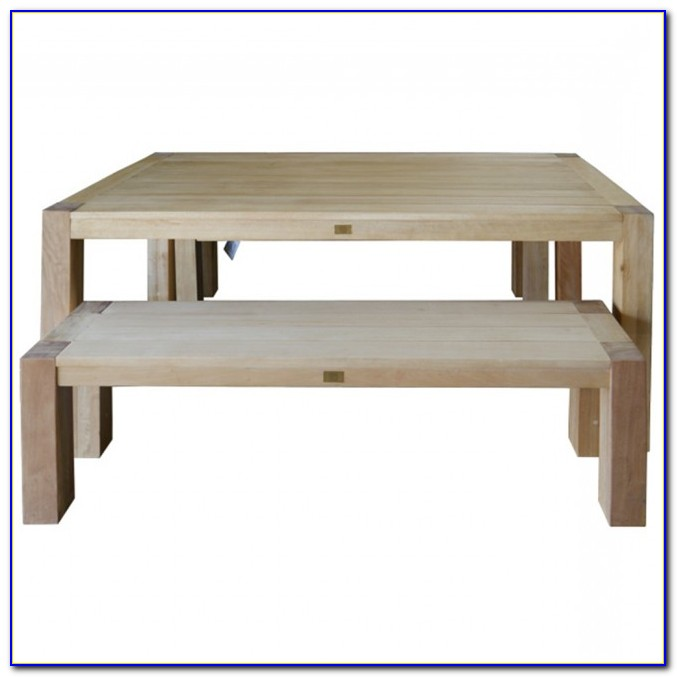 Outdoor Dining Furniture With Bench