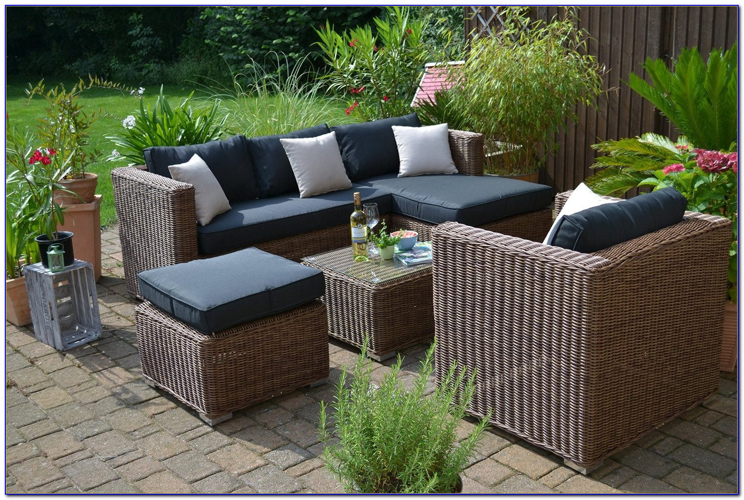 Outdoor Möbel Rattan