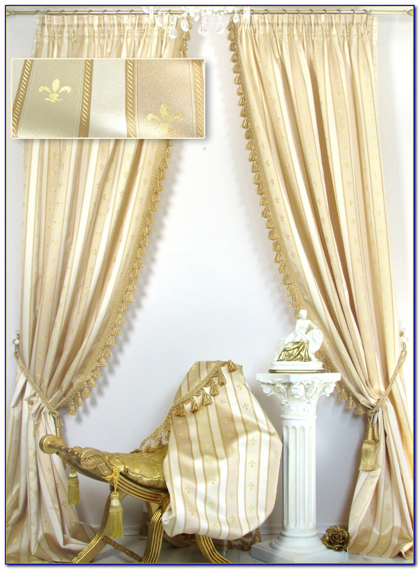 Pailletten Vorhang Gold