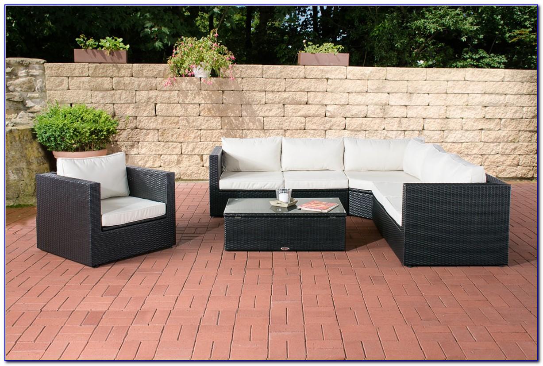 Poly Rattan Gartenmöbel Lounge Set