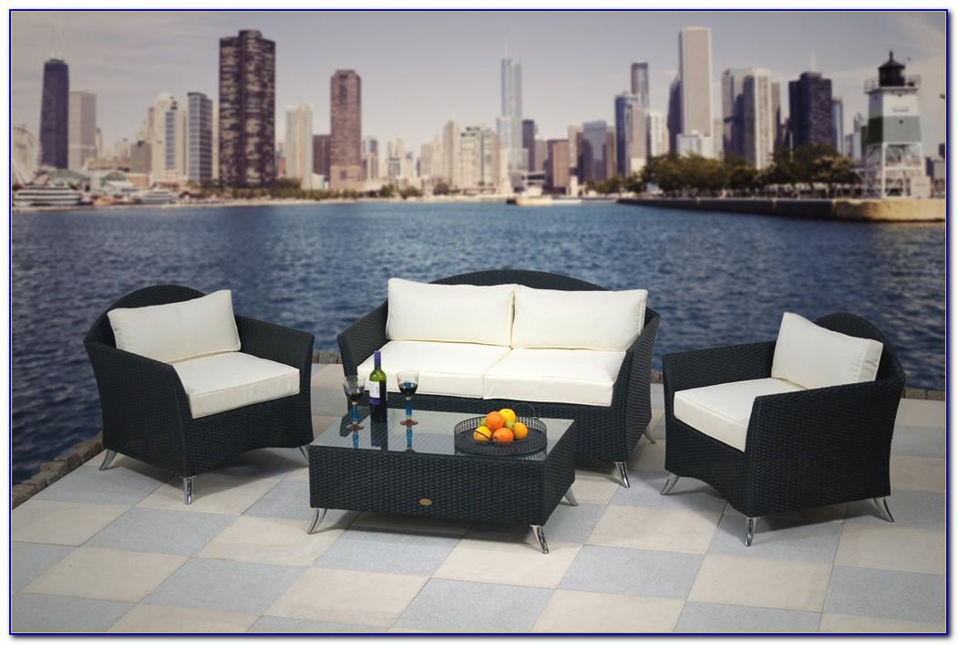 Polyrattan Gartenmöbel Lounge Sitzgruppe