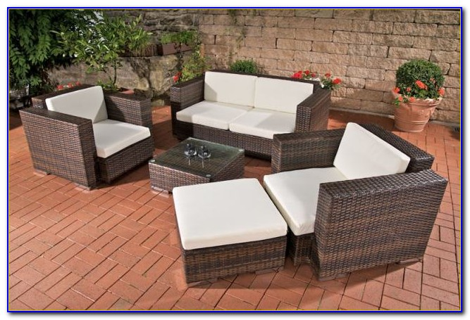 Polyrattan Lounge Gartenmöbel Ebay