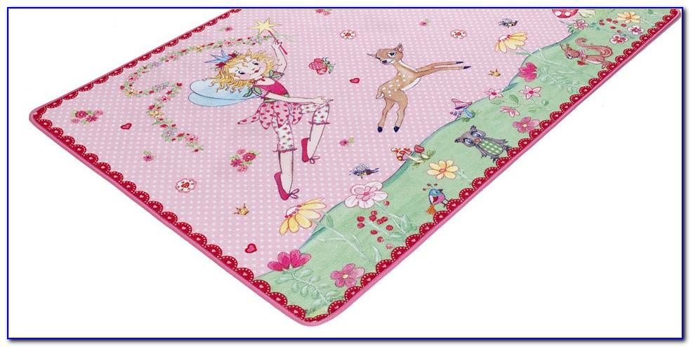 Prinzessin Lillifee Teppich Blumenkranz
