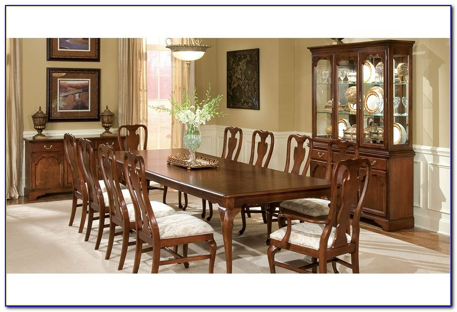 Queen Anne Solid Cherry Dining Room Furniture