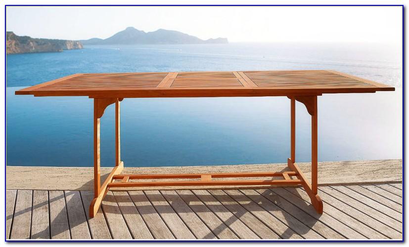 Rattan Gartenmöbel Tisch Ausziehbar