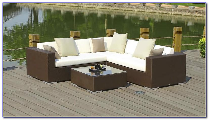 Rattan Lounge Gartenmöbel Set