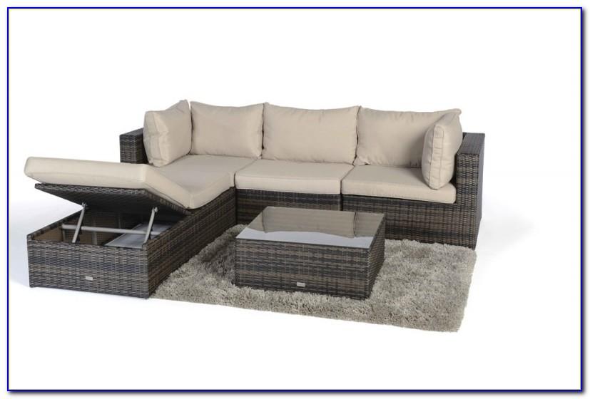Rattan Lounge Möbel Garten