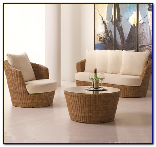 Rattan Lounge Möbel Pfister