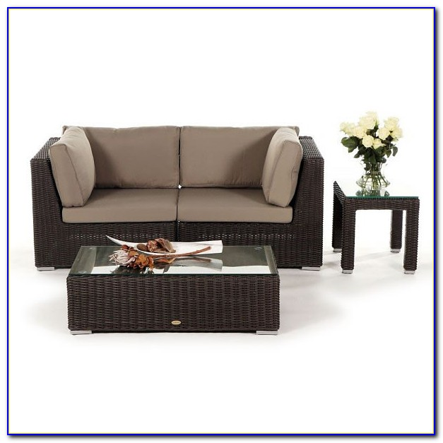 Rattan Lounge Möbel Set