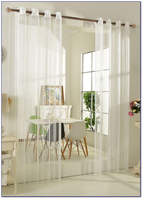 Raumteiler Vorhang Fäden