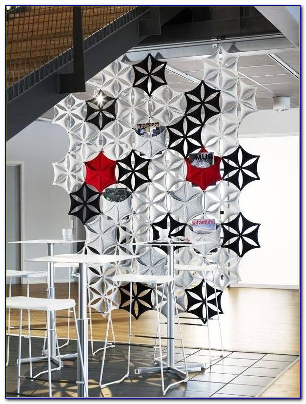 Raumtrenner Vorhang Schwarz