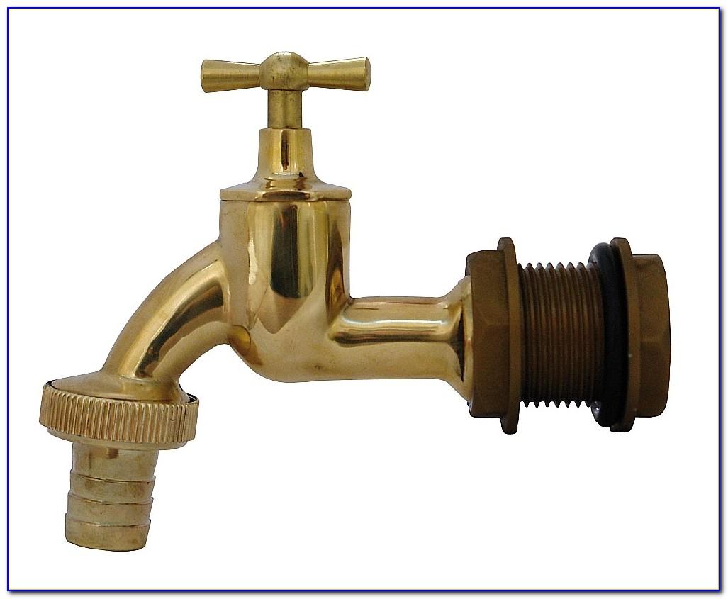 Regentonne Wasserhahn Installieren