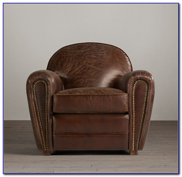 Restoration Hardware Leather Chair Care