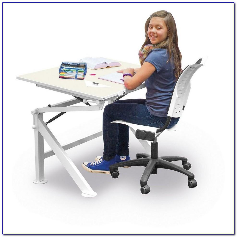 Richtige Höhe Höhenverstellbarer Schreibtisch