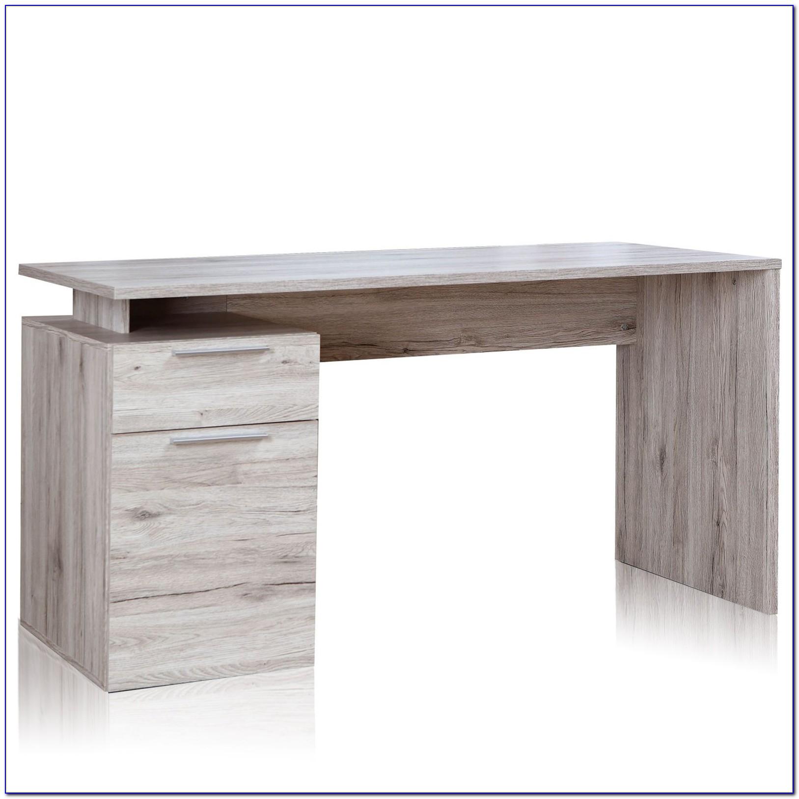 Roller Schreibtisch Nussbaum