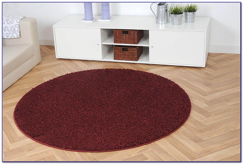 Rotweinflecken Hochflor Teppich