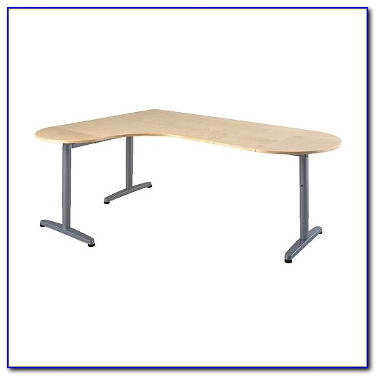 Runder Schreibtischstuhl