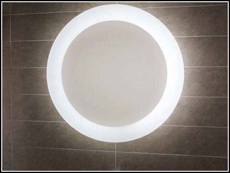 Runder Spiegel Mit Beleuchtung