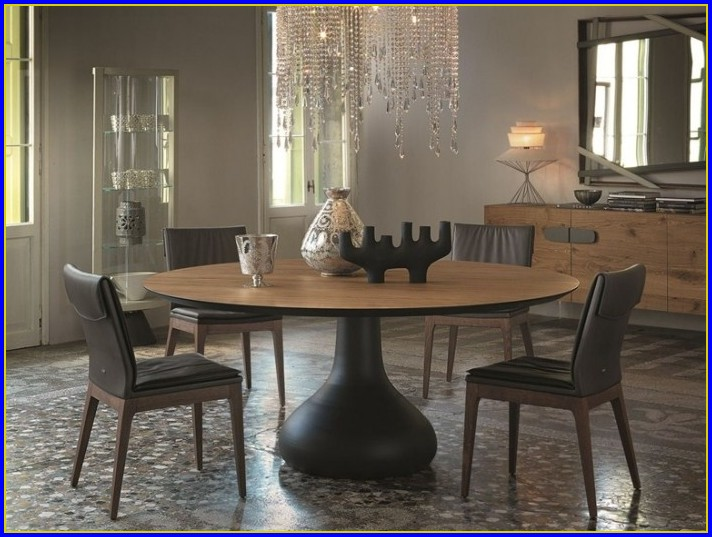 Runder Tisch Holz Ausziehbar Dolce Vizio Tiramisu