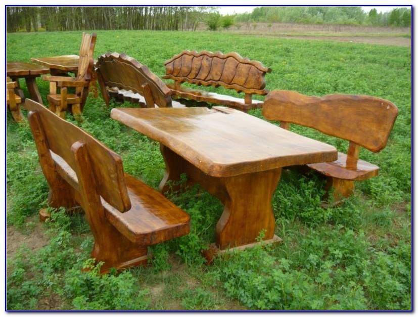 Rustikal Gartenmöbel Holz