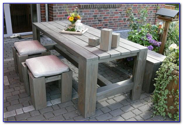 Rustikale Gartenmöbel Aus Holz Polen