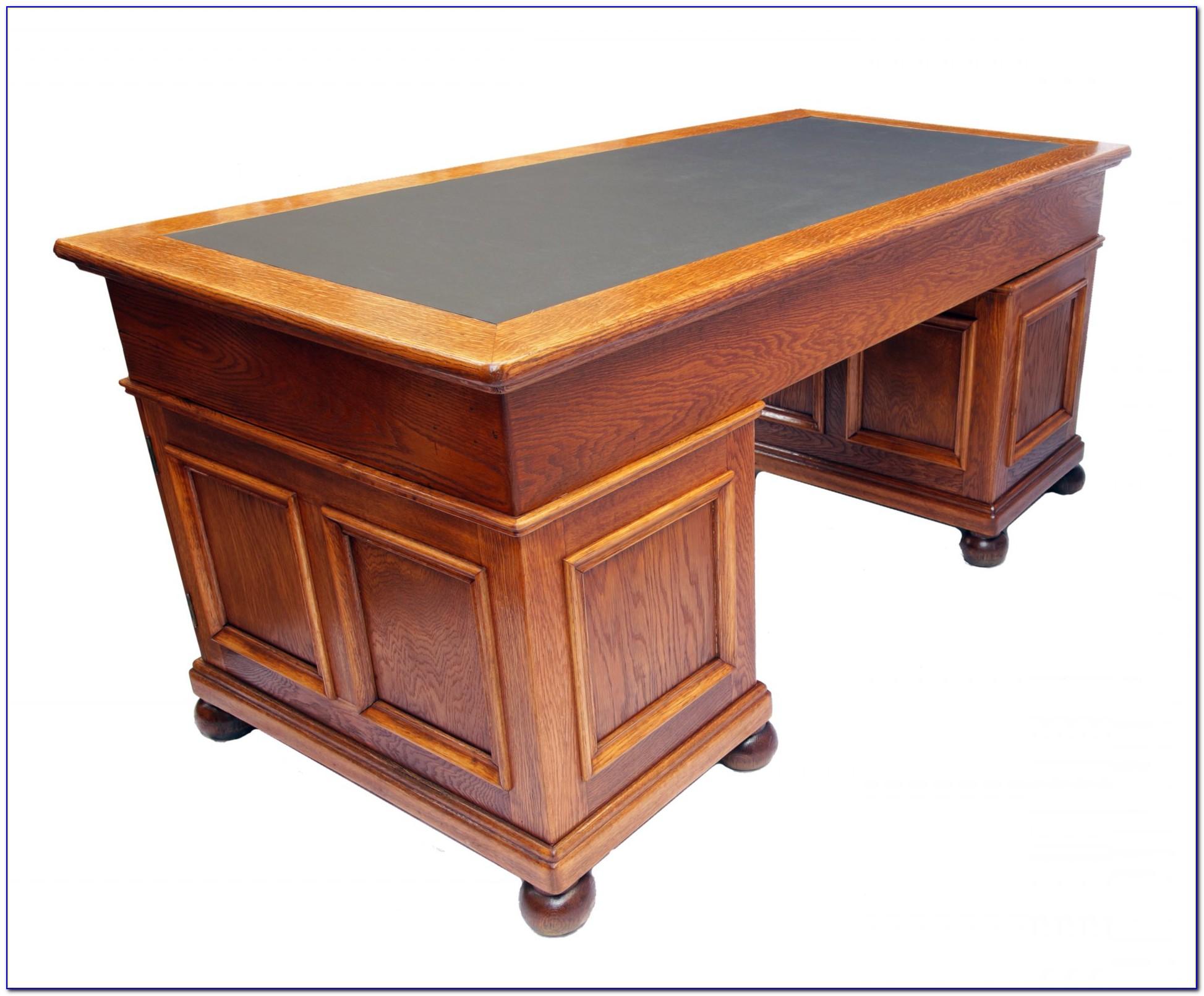 Rustikale Schreibtischplatte