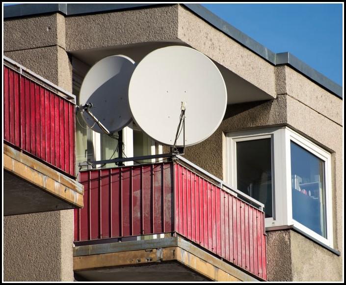 Sat Antenne Balkon Erlaubt