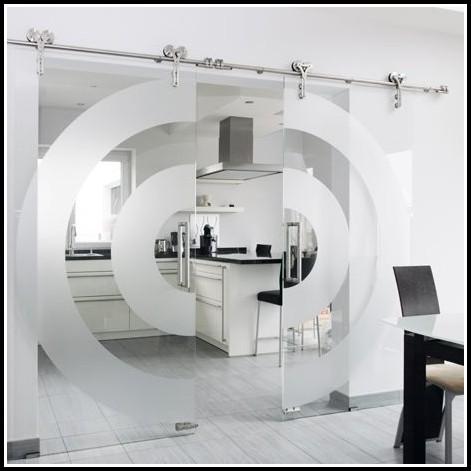 Schiebetür Wohnzimmer Küche