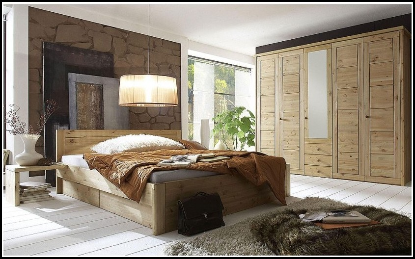 Schlafzimmer Aus Massivem Holz