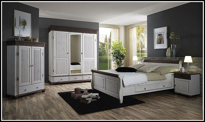 Schlafzimmer Holz Massiv Weiß