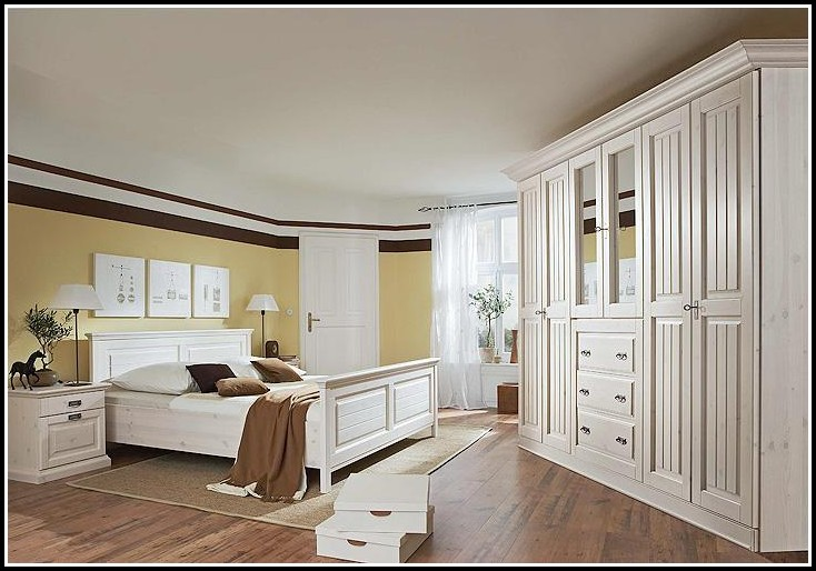 Schlafzimmer Kiefer Massiv Gelaugt Geölt