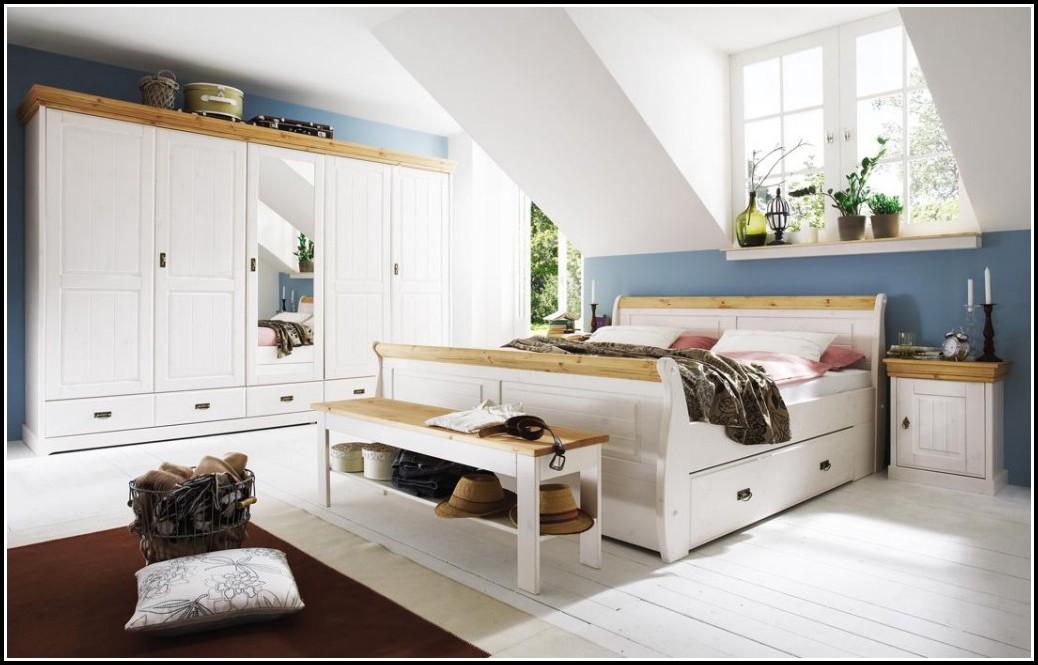 Schlafzimmer Kiefer Massiv Honigfarben