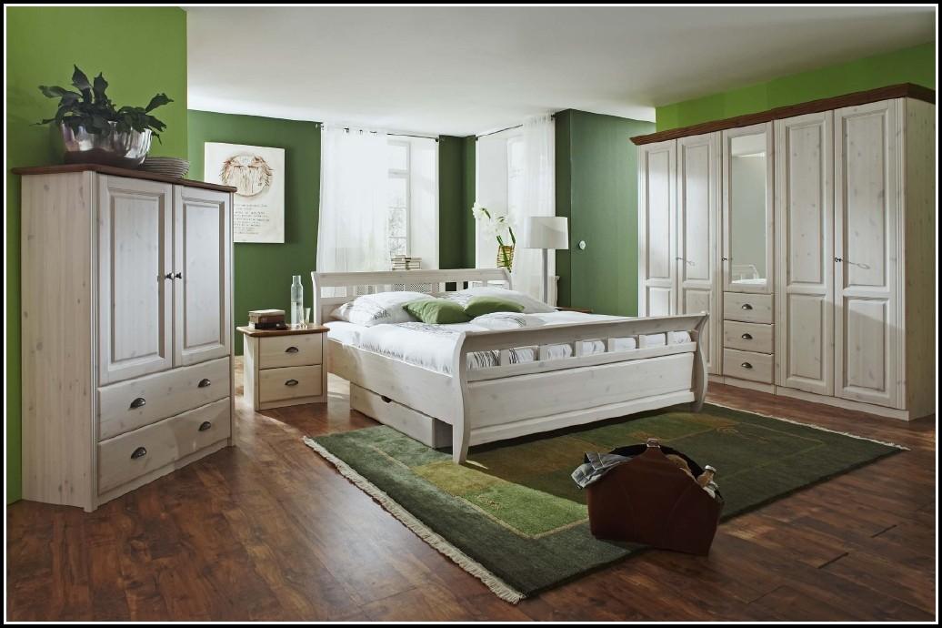 Schlafzimmer Kiefer Massiv Weiß