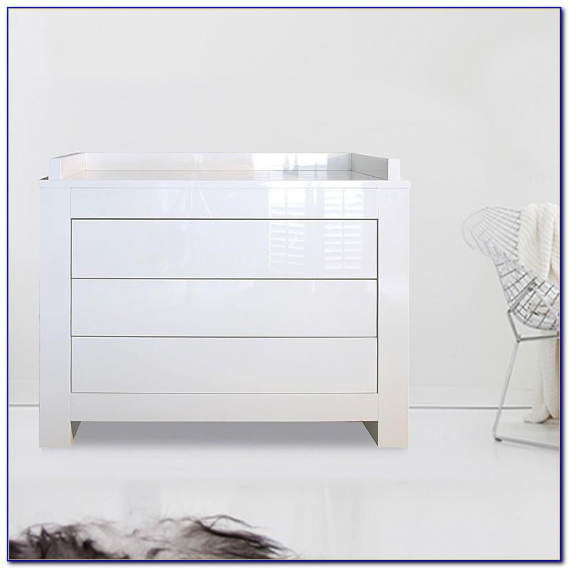 Schlafzimmer Kommode Hochglanz Weiß