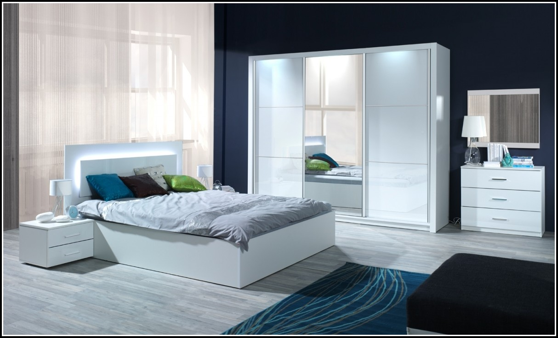 Schlafzimmer Komplett Hochglanz Weiss