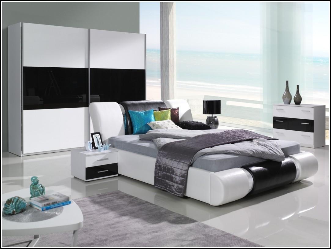 Schlafzimmer Komplett Weiß Hochglanz