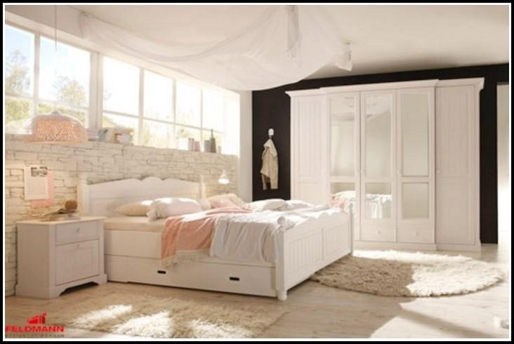 Schlafzimmer Malta Kiefer Weiss
