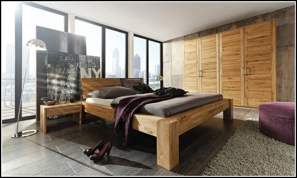 Schlafzimmer Massivholz Eiche