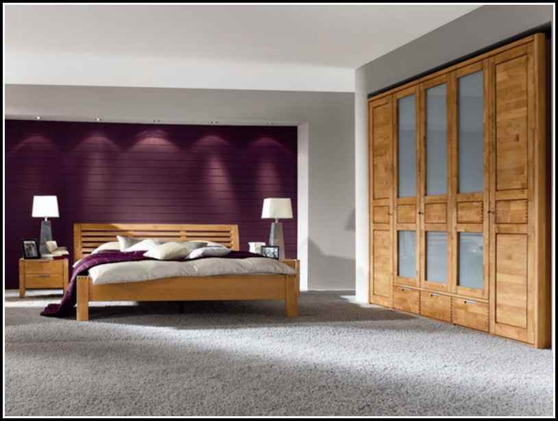 Schlafzimmer Massivholz Erle