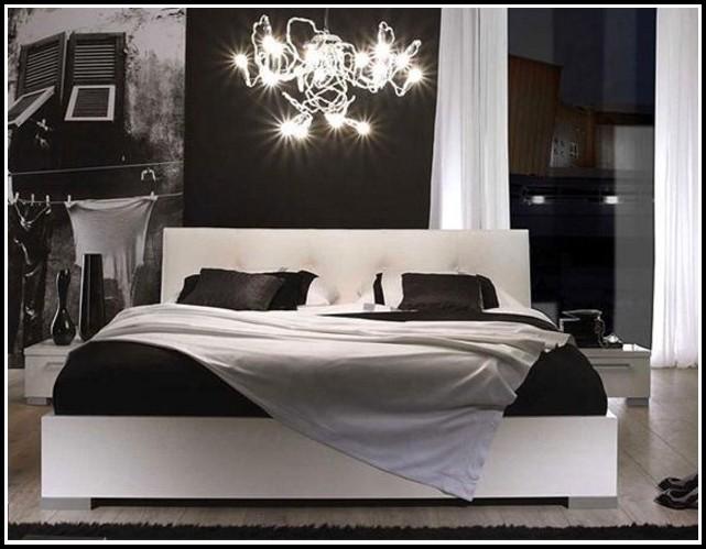 Schlafzimmer Milano Hochglanz Weiß