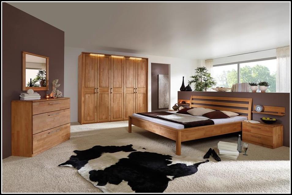 Schlafzimmer Toledo Erle Massiv