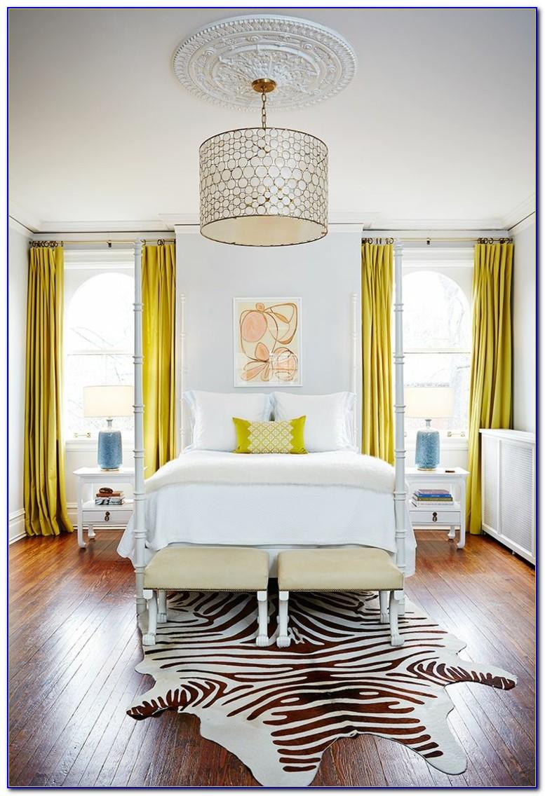 Schlafzimmer Vorhang Idee