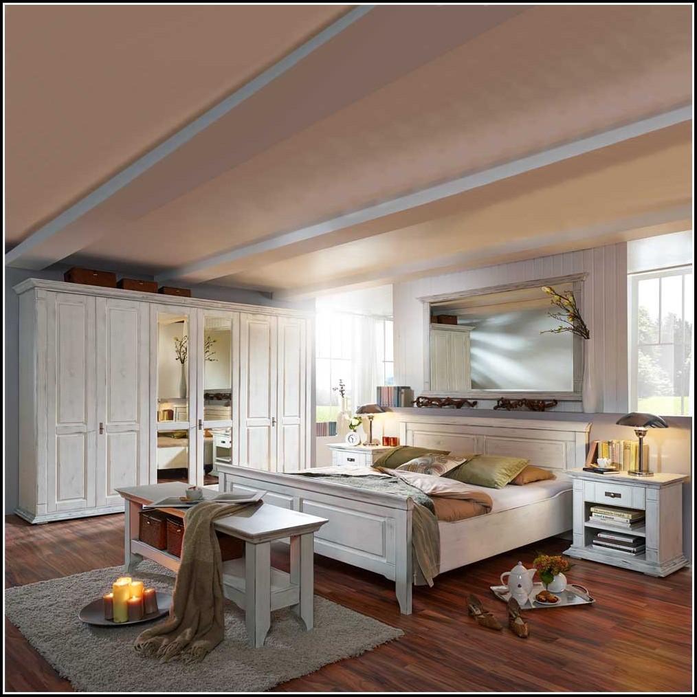 Schlafzimmer Weiß Massivholz