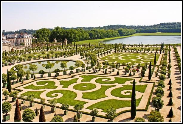 Schloss Versailles Garten Größe