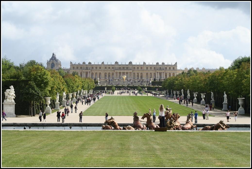 Schloss Versailles Gartenfassade